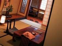 木造本館の和室のイメージです。