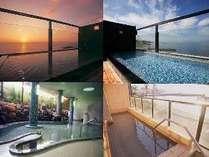 7階「天空の湯」、大浴場は男女日替わり