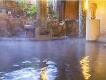 1階大浴場「山頭火の湯」。