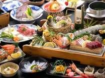 海の幸を中心に★旬の厳選食材の旨みが光る♪【料理長おまかせ会席】◆部屋食または個室食