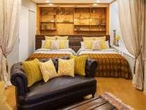 ベットルームも2部屋ございますので、複数人での宿泊が可能となります。