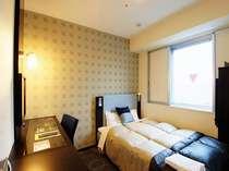 シングルルーム:全室へ空気清浄機・加湿器が完備されています。