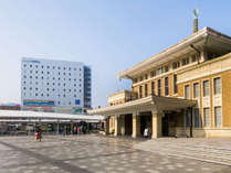 JR奈良駅前の好立地で古都奈良の空気を感じてください♪