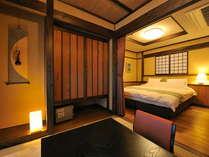 雲の上 居間と寝室