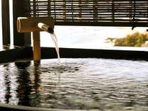 信楽焼きの露天風呂で・・・(雲の上)