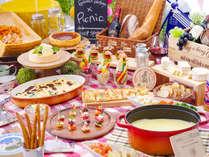 【エルバージュ】★チーズ×ピクニックフェア★2019年4月1日~6月30日