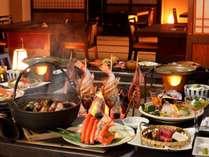 囲炉裏会食場 料理イメージ