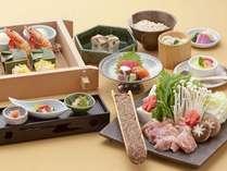 鶏のうどんすき鍋プラン「大宝」レストラン食コース