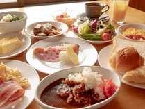 【朝食バイキング】朝からカレーで元気に♪(一例/日によって変更有)