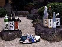 当館推奨の静岡県の地酒とお料理との相性で選んだお勧めの焼酎です。