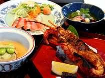 伊勢海老の鬼殻焼き付の懐石コース(料理イメージ)