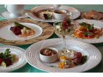 季節の食材をふんだんに!古城のホテルでフレンチディナー ~1泊2食~