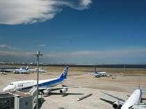 羽田空港へは、徒歩2分の最寄りの京急蒲田駅から快速特急で10分で到着