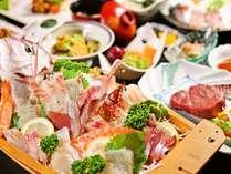 【期間限定】大きな船盛りや黒毛和牛ステーキ、鯛小鍋と充実の豪華会席