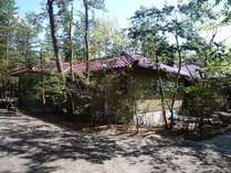 緑ゆたかな別荘地にある大きな「研修室のある家」