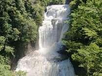 大迫力の袋田の滝(夏)