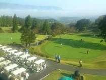 ゴルフ場併設のリゾートホテル