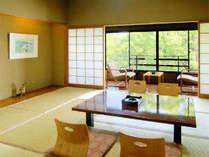 菊池の風情を感じられる和室は日ごろの疲れを癒してくれますよ♪