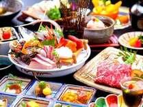 厳選料理【旬魚】季節の旬食材と日本海の旬魚をメインにした厳選会席