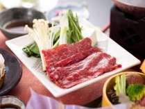 「ふくしま煌牛のすき焼き」(ご夕食のイメージ)