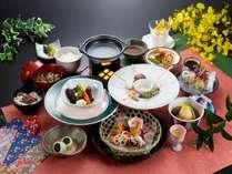 「特製ビーフシチュー」が付いた花曇の膳(ご夕食の一例)