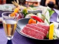 「福島牛のしゃぶしゃぶ」(ご夕食のイメージ)