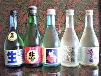 佐渡の地酒5本飲み比べ