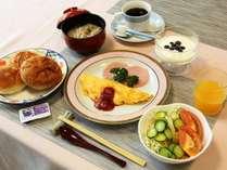 しっかり朝ごはんを食べて白馬をたっぷり楽しんでください