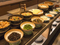 朝食は和食をブッフェでどうぞ