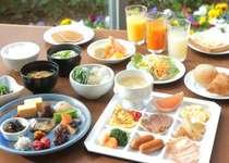 和洋ブッフェ朝食で一日のパワーを! ※写真はイメージです。