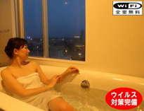 宍道湖展望風呂付♪DXルームは1600の特注バス&タイル張り浴室♪湖の夕日を独り占めのバスタイム♪