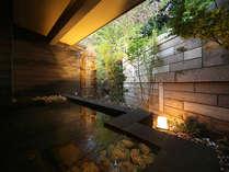 別邸内庫所専用の貸切露天風呂:弐の湯