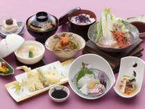 【野呂定食】地元産の新鮮な山海の旬の素材を活かした野呂定食