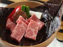 「特選A4等級飛騨牛ほう葉味噌ステーキ」郷土のクラシックな味とブランド牛のコラボレーション!