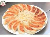 朝食の浜松餃子にはニンニク不使用!朝から食べられてしかも美味しい!!