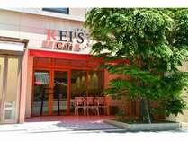 朝食会場「ケイズカフェ」入口