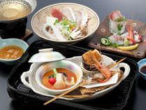 温泉入って♪福井のうまいもん食べて♪スタンダードコース「四季の三国膳(秋)」
