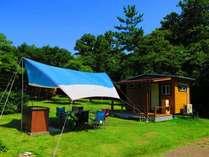 【キャンプ場】 何も持たずに手ぶらでキャンプ2018 (キャンプ初心者に最適!キャビンサイト)