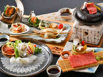 【3密対策プラン】日本海の食材勢揃い ~福井のうまいもん~「ひとひら献上」