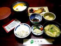 ≪朝食付≫気軽に温泉♪朝はしっかり和定食
