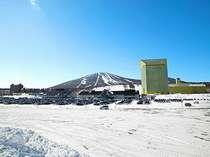 ウインターシーズンのスキー場エリア