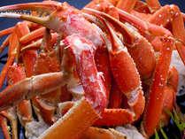 秋・冬の人気の食材。特大ズワイガニと特選メニューの饗宴!今年もやります。乞うご期待!