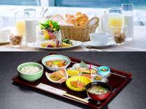 朝食は和食派?洋食派?お好きなほうをどうぞ!