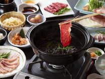 和食レストラン「七時雨」しゃぶしゃぶのテーブルバイキング