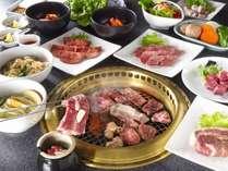 焼肉レストラン李朝苑のテーブルバイキング