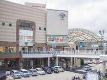 JR長崎駅・併設の商業施設AMUプラザもすぐそこ。お買い物に便利