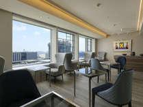 31Fフロア専用のギャラリールーム。ベイエリアの眺望をお楽しみいただけます。