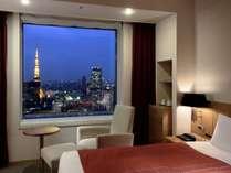 東京タワー側のお部屋からの夜景