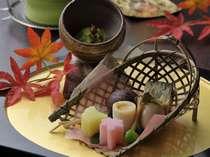 <料理イメージ>食材が豊富な三重ならではの会席をご準備しております。