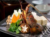三重県が誇る食材『伊勢海老』プリプリの食感をお楽しみ下さい。